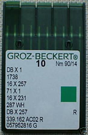 Imagem de DB X 1 ... Agulhas para Máquinas de Costura Industriais (Tronco Fino)