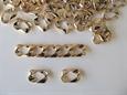 Imagem de FZ-0036770-DO ... Elo em Plástico Dourado