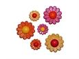 Imagem de BPF008011 ... Saqueta com Botões - 'Flor - You Are My'