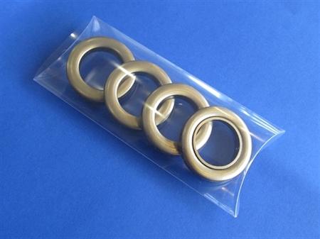 Imagem de CRT009281-35-BL ... Pack de 4 Ilhós Plásticos para Sacos ou Cortinados