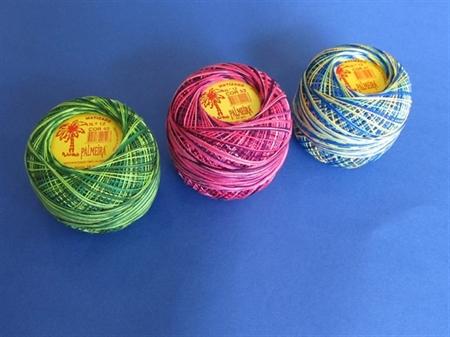 """Imagem de LINPALM050-MT ... Fio de Crochet """"Palmeira - Matizados"""" - 50 Gramas"""