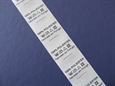 Imagem de ETQ142525 ... Fita com Etiquetas de Composição Textil