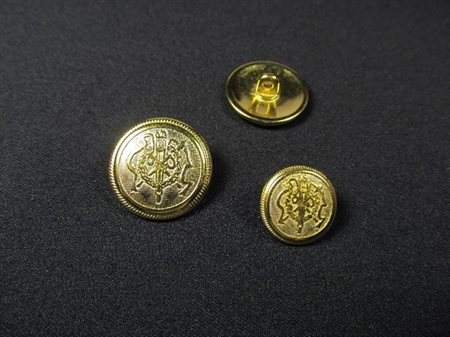 Imagem de BZM014536-DO ... Botão de Metal Dourado