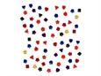 Imagem de BPF008066 ... Saqueta com Botões - 'Mini Formas - Color Wheel'