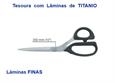 """Imagem de TSR900552 ... Tesoura de Costura """"KAI"""" com Lâminas Finas de TITANIO - 250mm"""