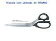 """Imagem de TSR900554 ... Tesoura de Costura """"KAI"""" com Lâminas de TITANIO - 280mm"""