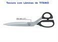 """Imagem de TSR900555 ... Tesoura de Costura """"KAI"""" com Lâminas de TITANIO - 300mm"""