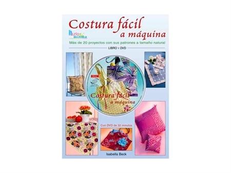 Imagem de LIV001074 ... Livro + DVD: Costura Fácil a Máquina