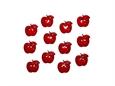 """Imagem de BPF008106 ... Saqueta com Botões - """"Maçãs - Button Fun"""""""