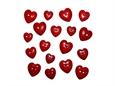 """Imagem de BPF008071-VT ... Saqueta com Botões """"Coração - C C Red"""""""
