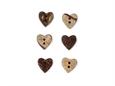 """Imagem de BTW009372 ... Botões de Côco """"Coração Pequeno"""""""