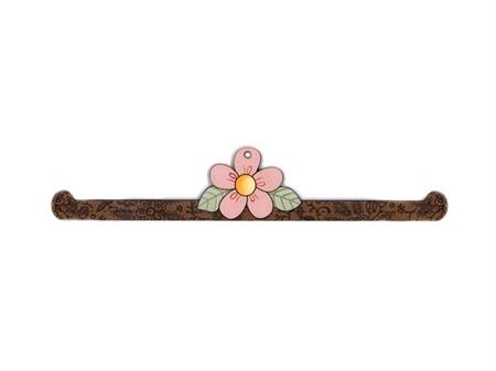 """Imagem de CAB008879 ... Cabide Decorativo em Madeira """"Hangert Flower"""""""