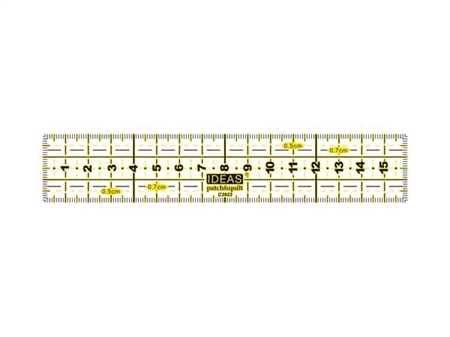 Imagem de REG003856 ... Régua Rectangular para Patchwork (3x15cm)