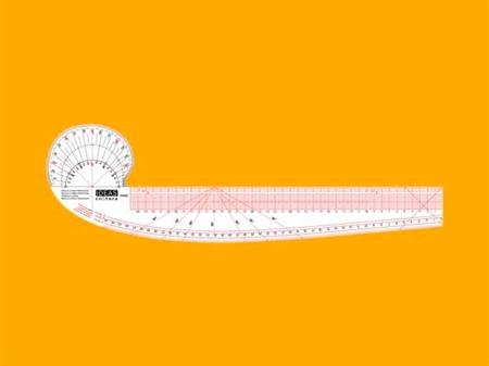 Imagem de REG009382 ... Régua Curva Francesa para Costura (45cm)