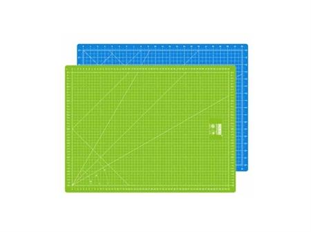"Imagem de BSC000545-B ... Base de Corte ""IDEAS"" Bicolor - Verde+Azul (45x30cm)"