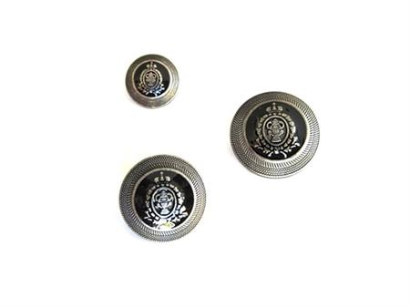 Imagem de BZM743012 ... Botão de Metal com Pé