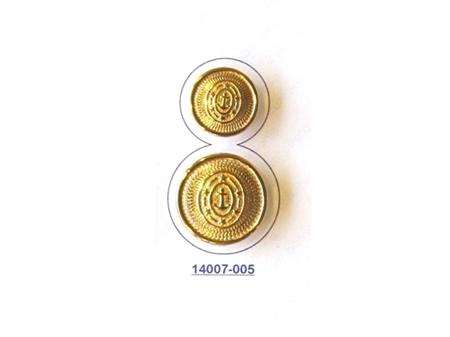 Imagem de BZM014007 ... Botão de Metal com Pé