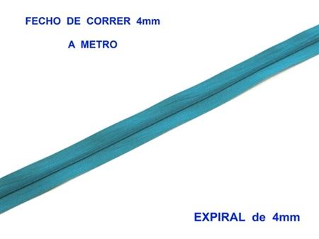 Imagem de FXC4EM ... Fecho de Correr a METRO (Expiral de 4mm)