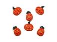 """Imagem de BPF008127 ... Saqueta com Botões - """"Glitter Pumpkins"""""""