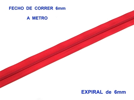 Imagem de FXC6EM ... Fecho de Correr a METRO (Expiral de 6mm)