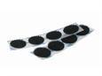 Imagem de FMC00DOTS-020 ... Circulos (Dots) em Velcro Auto-Colantes (20mm)