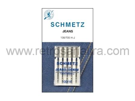 Imagem de 130/705 H J ... Agulhas Schmetz Domésticas (JEANS)