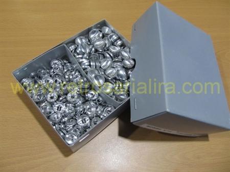 Imagem de BTF408010 ... Botões de Forrar com Pé de Alumínio