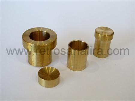 Imagem de BTF408010-MTZ ... Matriz para Botões de Forrar com Pé de Alumínio