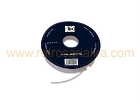 Imagem de CRD461000-005 ... Fio de Silicone para Colares (0,5mm) - 10 Metros