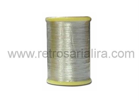 Imagem de LINDX0069 ... Carrinho de Linha Metalizada (Prateada)