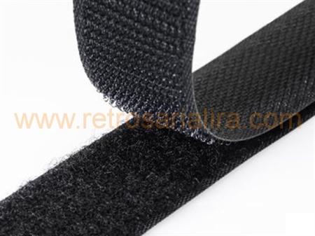 Imagem de FMC00016C ... Fita Velcro para Coser (Branco / Bege / Preto)