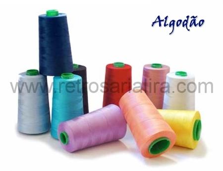 Imagem de LINDXQ40C0000 - Cone de Linhas de Algodão nº.40 - Alta Qualidade