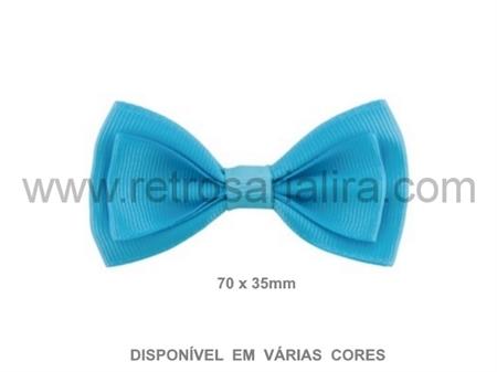 Imagem de APL654407 ... Laço Duplo em Gorgorão (70x35mm)