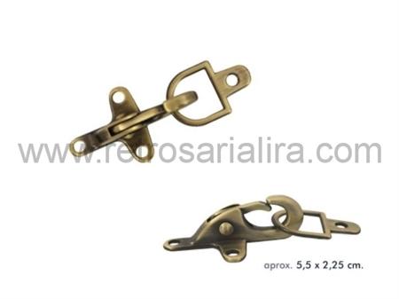 Imagem de FXM754128 ... Fecho de Metal (55x23mm)