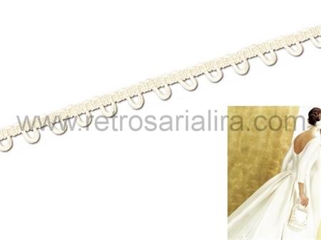 Imagem de FTD027197 ... Fita com Casas para Vestidos de Noivas