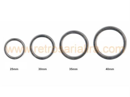 Imagem de ARG004364 - Argolas em Metal (Batidas)