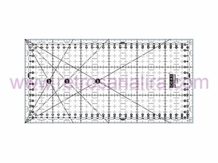 Imagem de REG003861 ... Régua Rectangular para Patchwork Anti-Deslizante (15x30cm)