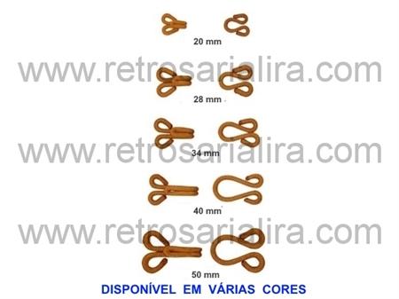 Imagem de CLC222100 ... Colchetes Forrados