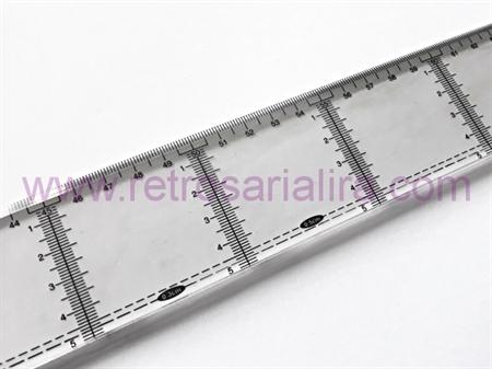 Imagem de REG000174 ... Régua em Plástico com 120cm