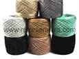 """Imagem de LINPALM025-MT ... Fios de Crochet """"Palmeira - METALIZADOS"""" - 25 Gramas"""